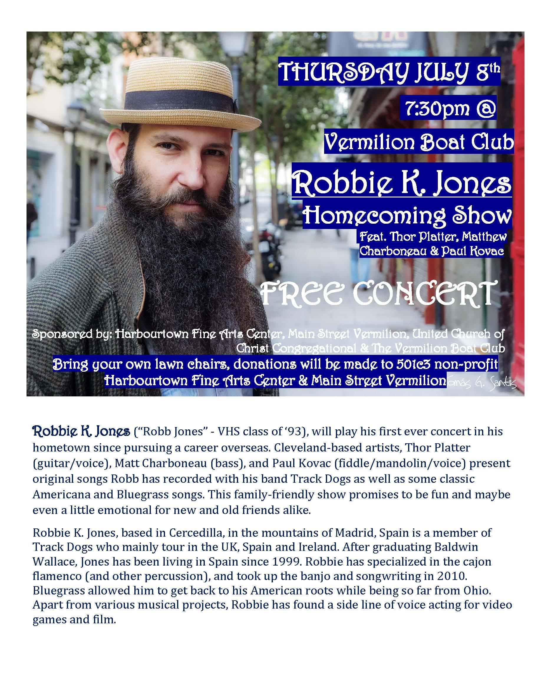Robbie K Jones THURSDAY JULY 8th, 2021 website